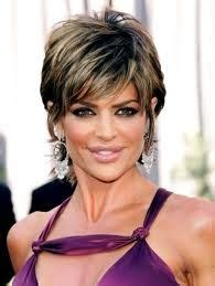 lisa rinna short shag over 50 1000 images about cute short haircuts on pinterest