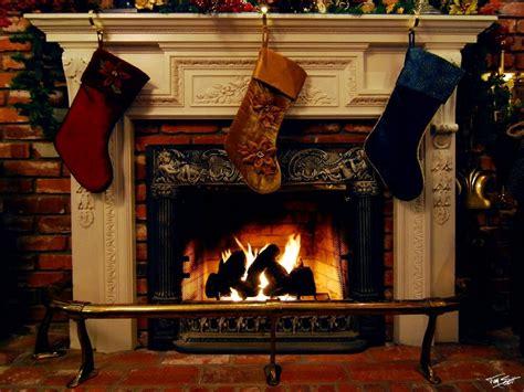 kamin hintergrund fireplace festive decorations t
