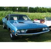 73 Dodge Challenger Auto Classique VAQ Mont St