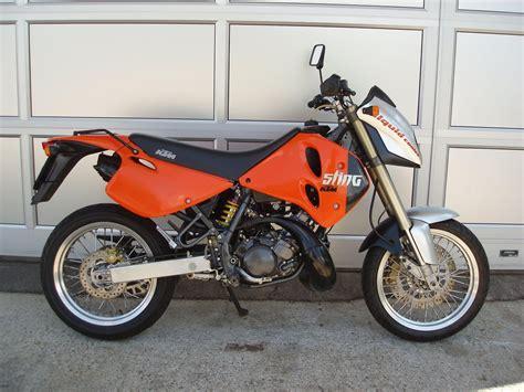 125 Motorrad Pr Fung Schweiz by Motorrad Occasion Kaufen Ktm 125 Lc2 Sting E Supermoto