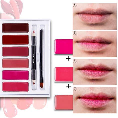 Lipcream Palette Box Lipgloss 2017 new 6 colors lip palette label lip gloss liquid lipstick buy label