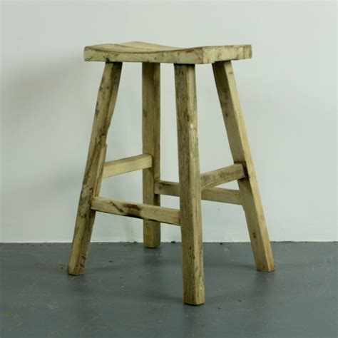 Wooden High Stool Rustic Wooden High Bar Stool Lovely And Company