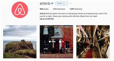 airbnb instagram 21 instagram accounts to follow for brand inspiration