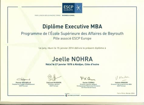Executive Mba Europe by Executive Mba
