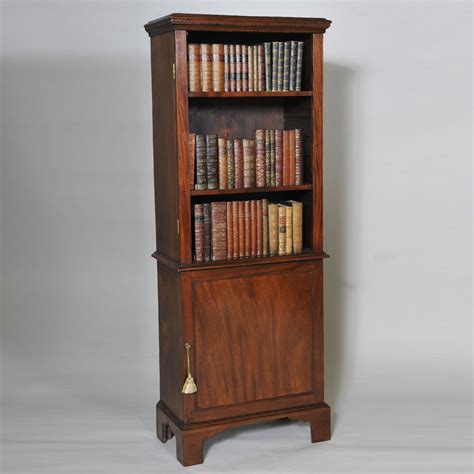 narrow mahogany bookcase antique mahogany bookcase of narrow size elaine phillips