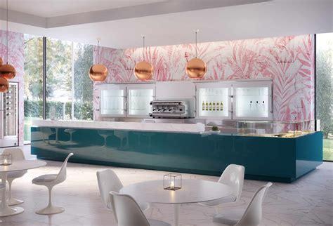 Banco Bar Legno by Banco Bar Lineare Rivestito In Legno Molello Hi Bar