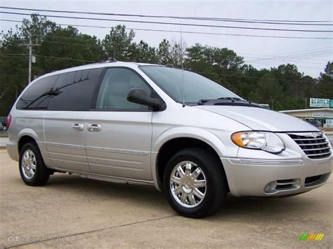 Chrysler Silver by 2005 Bright Silver Metallic Chrysler Town Country