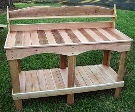potting bench made from pallets 10 diy pallet potting bench ideas newnist