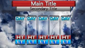 metgraphics weather graphics photoshop templates