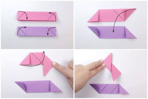 How To Make A Origami Shuriken - origami tutorial