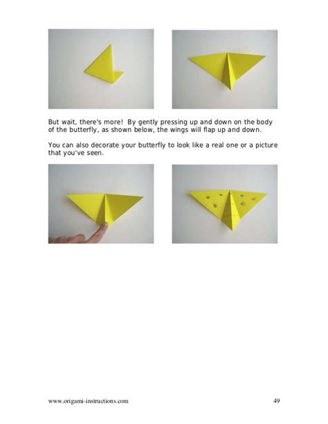 Origami Flapping Butterfly - libro origami animals
