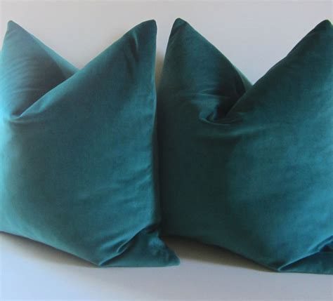 teal colored pillows set of two teal pillows decorative pillow cover 20 inch