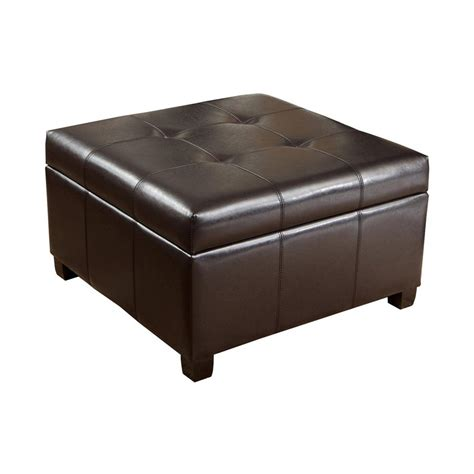 shop ottomans shop best selling home decor richmond espresso faux