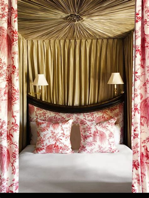 red toile bedroom 1000 images about red interior design room decor on