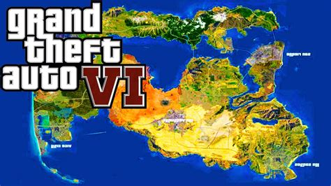 gta 6 world map gta 6 news release date map leaks gta 5