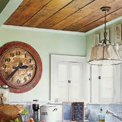 kitchen paneling ideas cottage charm wood paneling overhead 28 thrifty ways to