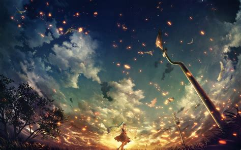 wallpaper garis hd anime girl wallpaper hd 183 download free cool full hd