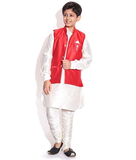 riwaaz cream mehroon color kurta pajama set with jacket riwaaz red cream color kurta pajama set with jacket for