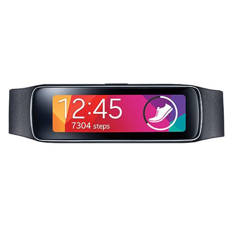Samsung Smartwatch Fit samsung gear fit smartwatch charcoal black sm r3500zkaxar b h