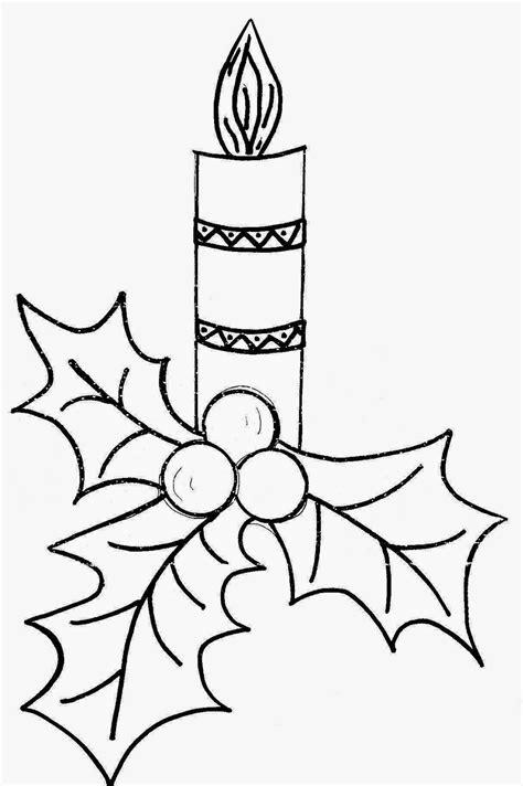 dibujos de navidad para colorear tamaño carta trato o truco dibujos para colorear de velas de navidad