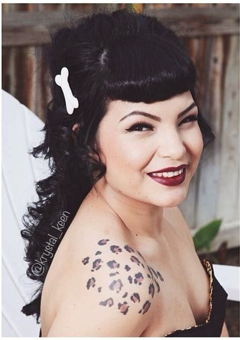 rockabilly hairstyles no bangs bettie bangs rockabilly pinup pinuphair my