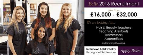 hairdresser jobs glasgow job applicants belle teachers assistant hairdresser