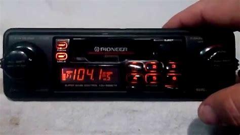 cassette car stereo vintage pioneer keh 9898tr am fm cassette car stereo