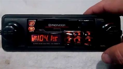 cassette car vintage pioneer keh 9898tr am fm cassette car stereo