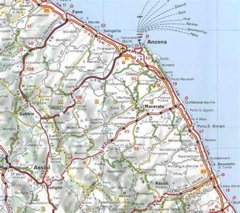 map of ancona italy ancona italy italy maps italy weather