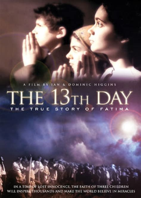 the true story day 13th day the true story of fatima dvd catholic