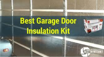 best garage door insulation kit