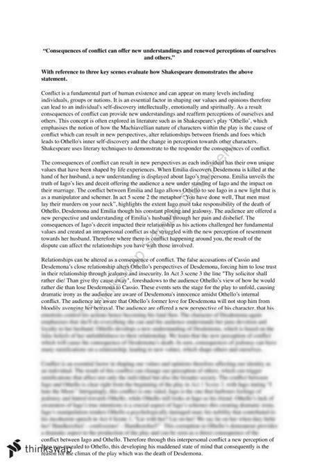 Catharsis In Hamlet Essay by Othello Essays Othello Essay Topics Bipolar Disorder Essay Conclusion Othello Essay West Selena