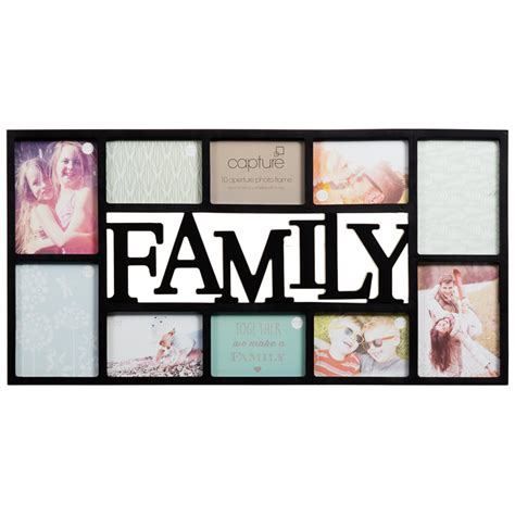 photo frames for family pictures family multi aperture photo frame photo frames