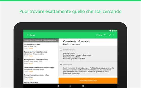 ricerca lavoro cerca lavoro trovit lavoro app android su play