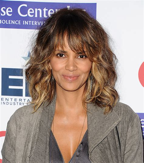 Halle Berry Hairstyles by Halle Berry Debuts Edgy Undercut Hairstyle With A Twist