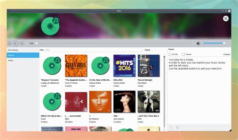 kde design guidelines meet elisa a new beautiful kde plasma 5 music player iwf1