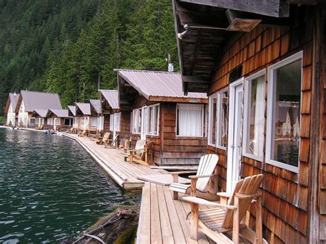 Diablo Lake Cabins by These Floating Cabins In Washington Are The Ultimate Place