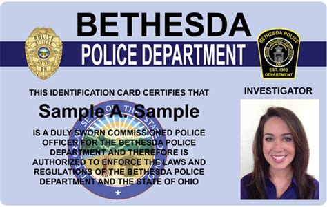 officer id card templates the and sheriffs press custom photo id card