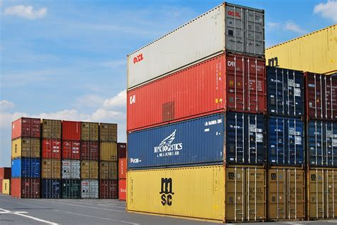 dock container export 183 free photo on pixabay