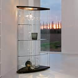 Display Cabinet Bowed Glass Gracia Display Cabinet In Curved Glass Arredaclick