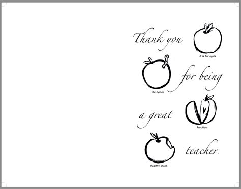 printable thank you cards to color for teachers printable coloring thank you cards for teachers printable