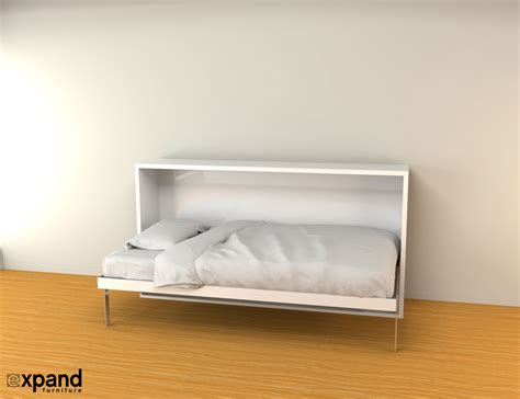 horizontal wall bed single murphy bed