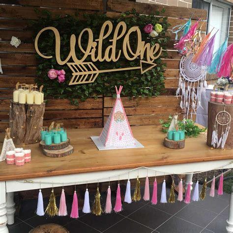 wild one birthday party ideas backdrops boho and birthdays
