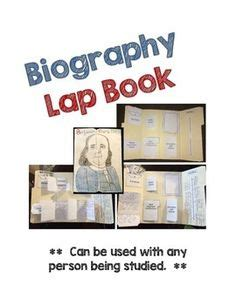 biography book for 5th graders biography lapbook biography research lap books
