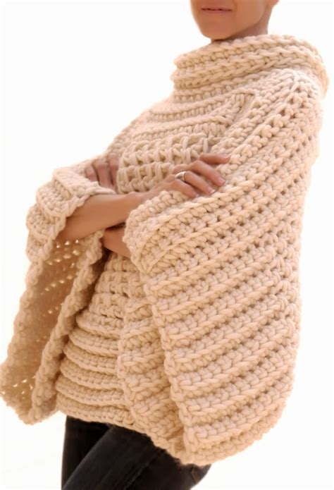 winter crochet wonderful crochet projects to warm you and your loved ones books pop crochet poncho the pattern tutorial stylesidea