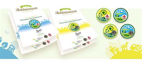 design for environment companies series of certificate designs for national environment