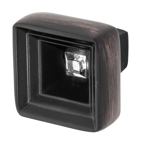 oil rubbed bronze glass cabinet knobs wisdom stone hidden treasure 1 1 16 in oil rubbed bronze