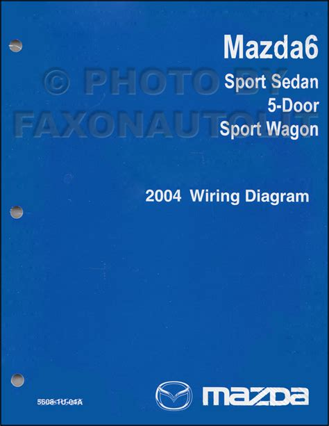 2004 mazda6 repair shop manual original