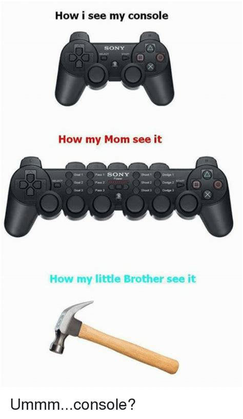 my console how i see my console sony how my see it sony how my