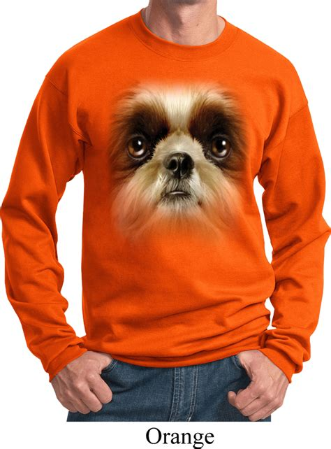 shih tzu big mens shih tzu sweatshirt big shih tzu sweat shirt big shih tzu mens shirts